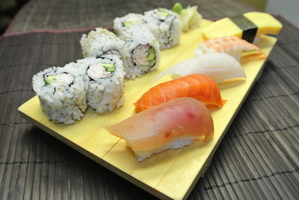 nanaimo sushi lunch special